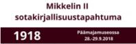 Mikkelin II Sotakirjallisuustapahtuma -logo