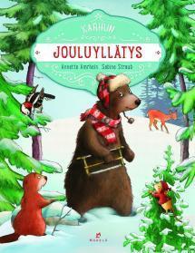 Karhun jouluyllätys - kirjan kansikuva