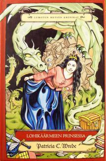 Lohikäärmeen prinsessa - kirjan kansikuva