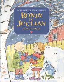 Ronin ja Juulian joululahjat - kirjan kansikuva
