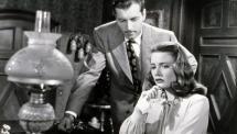 George Montgomery ja Nancy Guild elokuvassa Vanha kupariraha